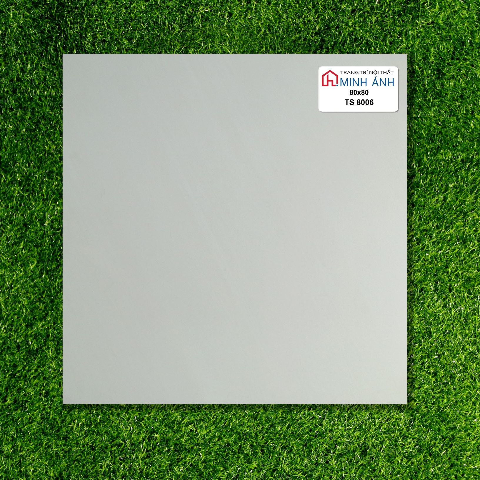 Gạch lót nền  80x80 đá bóng kính cao cấp Tasa 8006