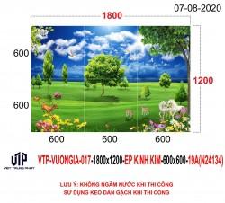 Gạch tranh trang trí N24134