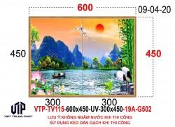 Gạch tranh trang trí TV115
